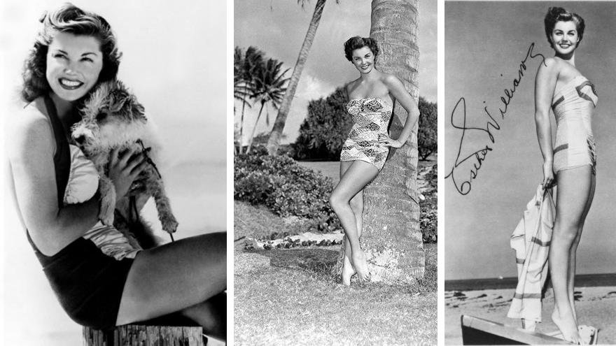 banador pin up esther williams